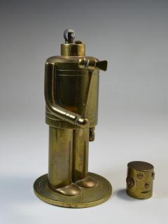 Robot Table Cigar Lighter Machine Age Art Deco 1930 - 1809071