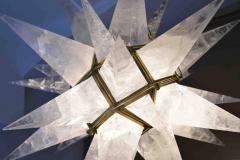 Rock Crystal Star Chandeliers by Phoenix - 1998488