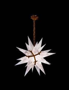 Rock Crystal Star Chandeliers by Phoenix - 1998489