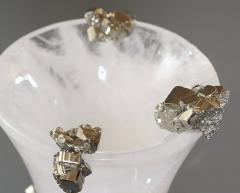 Rock Crystal Vase by Phoenix - 2042517
