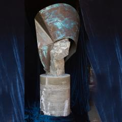 Rock Garden Sculptures Abstract Art Soapstone Copper Rancho Santa Fe CA - 1771214