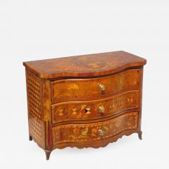 Rococo South German Miniature Marquetry and Parquetry Commode Mid 18th Century - 615272