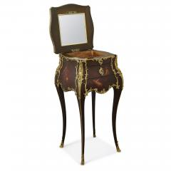 Rococo style side table with vernis Martin decoration and gilt bronze mounts - 2045149