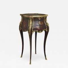 Rococo style side table with vernis Martin decoration and gilt bronze mounts - 2046436