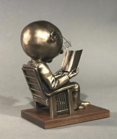 Rodger Jacobsen The Reader maquette  - 483279