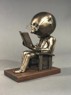 Rodger Jacobsen The Reader maquette  - 483284