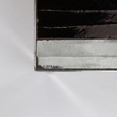 Roger Capron A large cocktail table Table au soleil steel ceramic tiles - 1648421