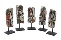 Roger Capron Abstract Ceramic Sculptures France 1990s - 884464