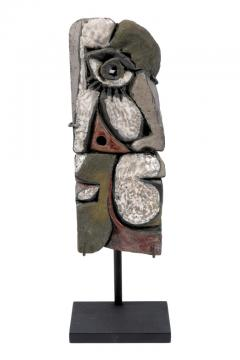 Roger Capron Abstract Ceramic Sculptures France 1990s - 884469