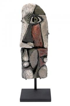 Roger Capron Abstract Ceramic Sculptures France 1990s - 884471