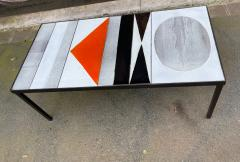 Roger Capron Ceramic Coffee Table Vallauris France 1960s - 2126948