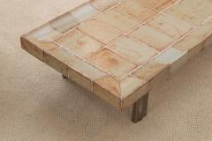 Roger Capron Ceramic Tiled Coffee Table - 572415