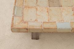 Roger Capron Ceramic Tiled Coffee Table - 572416