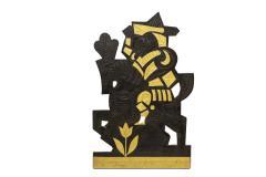 Roger Capron Decorative panel in lead 1960s - 2065049