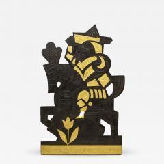 Roger Capron Decorative panel in lead 1960s - 2066242