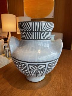 Roger Capron Large ceramic vase Vallauris France 1950s - 2080977
