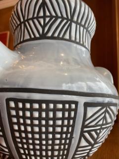 Roger Capron Large ceramic vase Vallauris France 1950s - 2080979