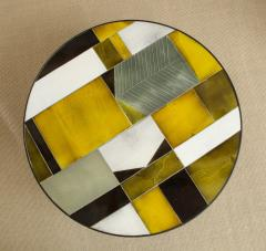 Roger Capron Low round table with ceramic top - 1131070