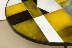 Roger Capron Low round table with ceramic top - 1131080