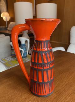 Roger Capron Pitcher Vase France 1960s - 2134434