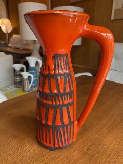 Roger Capron Pitcher Vase France 1960s - 2134435
