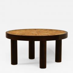Roger Capron Rare Small Herbier Ceramic Side Table by Roger Capron - 1003207