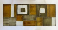 Roger Capron Roger Capron French Ceramic Coffee Table In Multi Color Tiles - 1212858