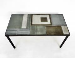 Roger Capron Roger Capron French Ceramic Tile Multi Color Coffee or Side Table Vallauris - 1057203