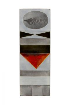 Roger Capron Roger Capron Glazed Lava Ceramic Tile Panel - 1090120