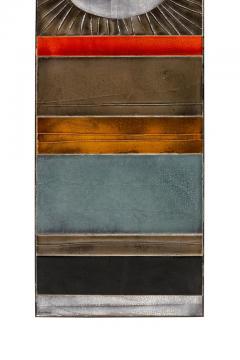 Roger Capron Roger Capron Glazed Lava Ceramic Tile Panel - 1090149