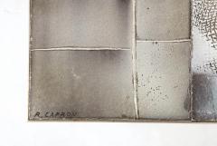 Roger Capron Roger Capron Lave Enameled Tile Top Table France c 1950 signed - 1062429