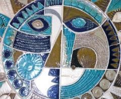 Roger Capron Soleil Ceramic Sculpture by Roger Capron - 878330