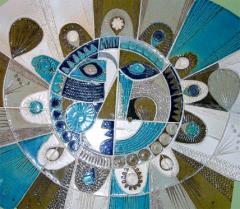 Roger Capron Soleil Ceramic Sculpture by Roger Capron - 878331