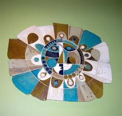 Roger Capron Soleil Ceramic Sculpture by Roger Capron - 878332
