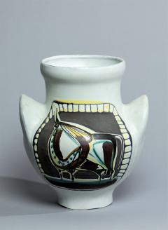 Roger Capron Vase a Oreilles Tareau - 530516