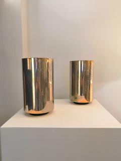 Roger Nathan rarest pair of gilt table Corfou lamps by Roger Nathan France 1970s - 1042449