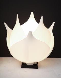 Roger Rougier Pair of Large 1980s Rougier Lamps - 1057573