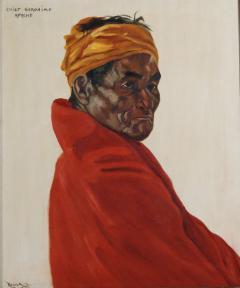 Roger Scott aka Duster Bortell Chief Geronimo - 1576045