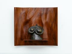 Roger Sloan American Studio Hand Sculpted Walnut Waterfall Shelf by Roger Sloan circa 1970 - 902213