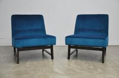 Roger Sprunger Dunbar Angular Slipper Chairs - 453416