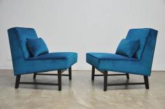 Roger Sprunger Dunbar Angular Slipper Chairs - 453419