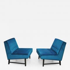 Roger Sprunger Dunbar Angular Slipper Chairs - 455627