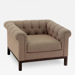 Roger Sprunger Roll Arm Chair by Roger Sprunger for Dunbar - 163140