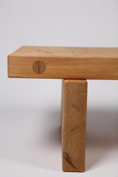 Roland Wilhelmsson Roland Wilhelmsson Coffee Table in Pine by Karl Andersson S ner Sweden 1970s - 1585594