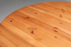 Roland Wilhelmsson Roland Wilhelmsson Solid Pine Dining Table for Karl Anderson S ner Sweden - 1566259