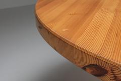 Roland Wilhelmsson Roland Wilhelmsson Solid Pine Dining Table for Karl Anderson S ner Sweden - 1566260