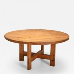 Roland Wilhelmsson Roland Wilhelmsson Solid Pine Dining Table for Karl Anderson S ner Sweden - 1568920