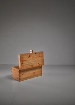 Roland Wilhelmsson Roland Wilhelmsson pine chest Sweden 1970s - 841699