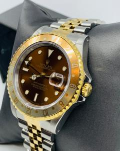 Rolex Brown Dial GMT - 1766210