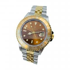 Rolex Brown Dial GMT - 1766349